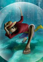 Monkey D Luffy by Gait44