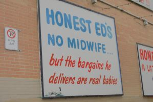 Honest Ed's #2-Honest Ed's Saying #1 by Neville6000