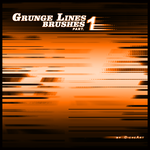 Grunge Lines Brushes Part.1 by DieheArt