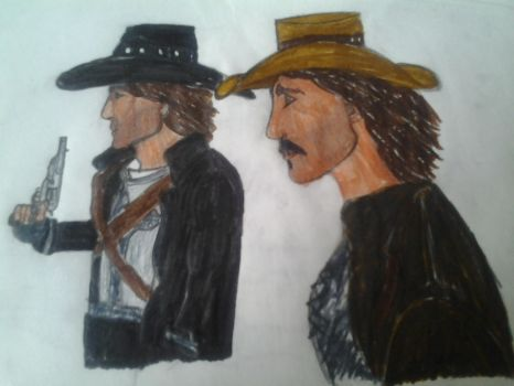 Call of Juarez: McCall brothers (color) by warriorjane12