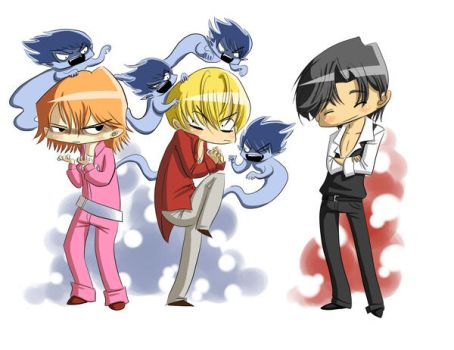 Skip Beat Chibis by mystcloud