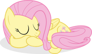 Adorable Sleeping Flutters by ShutterflyEQD