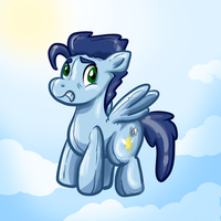Soarin as Balloon by ShapeshifterSoarin