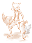 Rocket Raccoon by Mister-Saturn