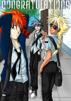 School Boys for DecemberWolves by BeybladeBaddies