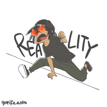 escaping reality by GReih