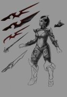Queen of Pain Dota 2 set proces by ivanbogicevic