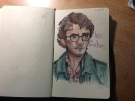 Will Graham watercolor by Picklemind