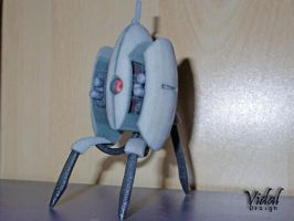 Portal Sentry Turret 3D printed ! by Vidal-Design