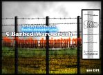 Barbed Wire Brush PS by FrostBo