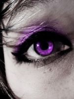 .:Piercing Purple:. by underneath-the-paint