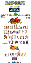 Capcom All Stars by 2Funny89