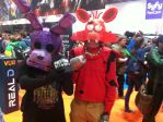 (MCM Expo 2015) My Bonnie Cosplay with a rad foxy by TheIcedWolf