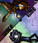 Contest - Space & Time by xX-SugoiPsycho-Xx