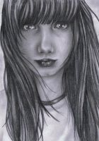 Face Sketch by haloanime97