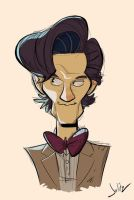 Eleventh Doctor by dodgyrommer