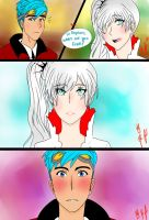 RWBY: First Encounter (NeptunexWeiss) by LilFloralGirl