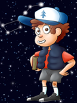 Dipper by Pwnchy