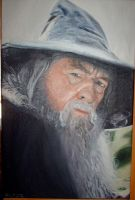Oilpainting of Gandalf by Valyanna8361