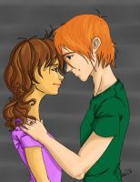 Ron and Hermione Forever by Elsa-chan