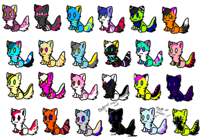 24 CHEAP KITTY ADOPTS! OPEN!! by FKandFriends