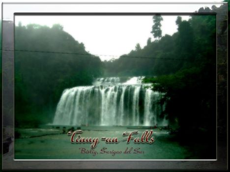 Tinuy-an Falls by emptydb