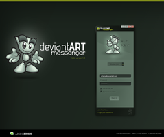 DeviantART Messenger Beta by GadART