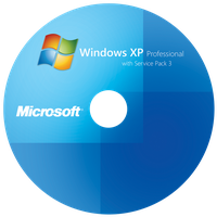 Windows XP Pro SP3 Label by CJ5
