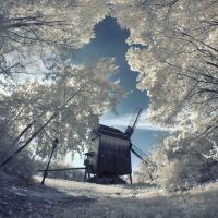 _ The Old Mill _  IR 01 by EYELIGHTZONE