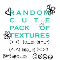 Random Cute Pack Of Textures by morganpollard-xo