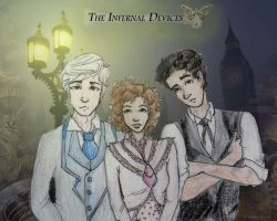 The Infernal Devices Trio by Applenoob45