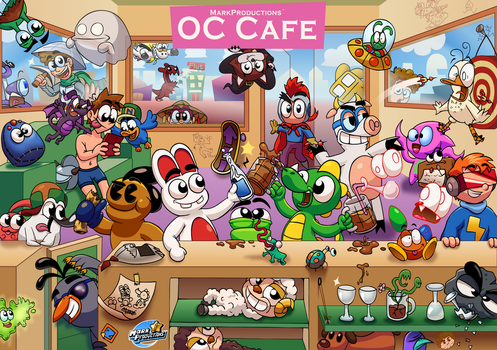 MarkProductions' OC Cafe by MarkProductions