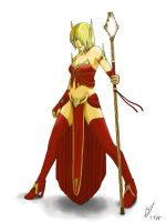 WoW - Blood Elf by Luran-V