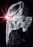 Predator sketch with effects by SolidAlexei