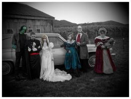 The Haunted Wedding Party by andy-pants