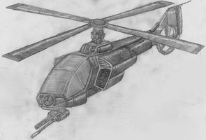 Small Helicopter Sketch by ZULU-CAL