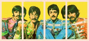 The beatles by Modca