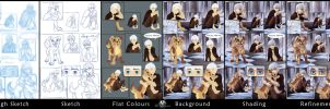 Comic-Stages by DolphyDolphiana