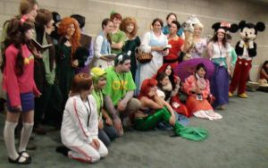 Disney Characters Gathering at Anime Expo 2013 by trivto