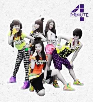 4minute by Lhezs