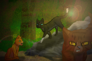 What if Scourge joined ThunderClan? by ShadowscarFlamefrost