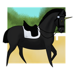 NightAngel Dressage - Charlie by MidnightAyaChan