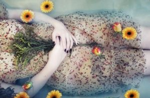 Ophelia in bathtub - I. by jusdorangephoto