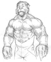 X-Men - Beast 'lion version' by NMRosario