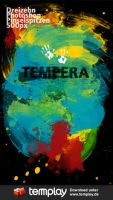 Tempera Photoshop Brushes by templay-team