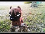 .: King of the Stump | Ginga plush :. by BeachBumDunkin
