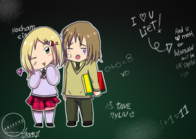 LietPol - BlackBoard by Arisu95