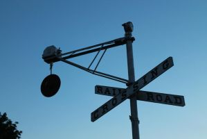 Railroad Crossing by Alluringraphy