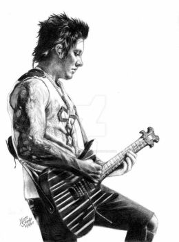 Synyster Gates by sacrificingsanity