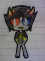 Chibi Sollux Captor Complete by MyAliceKills